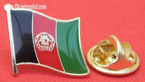 Afghanistan Afghan Country Flag - Lapel - Hat - Cap - Tie Pin Badge - Brand New